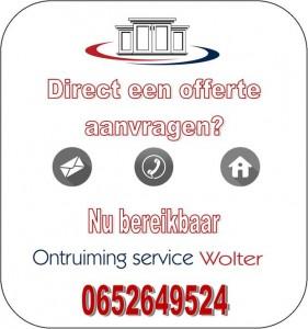 Woningontruiming Venlo offerte